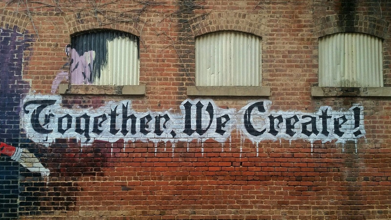 Image of Together we Create grafiti